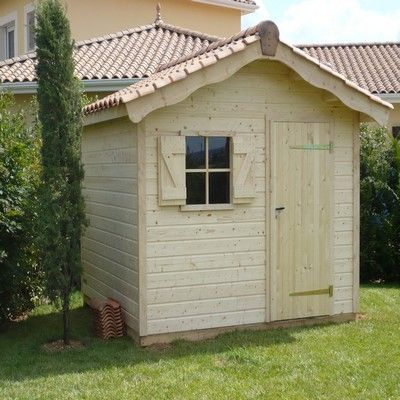 Construire un cabanon de jardin en bois images for Cabanon en bois de jardin
