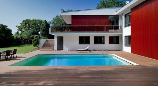 Construire piscine en bois great piscine beton imitation for Piscine en bois hors sol leclerc